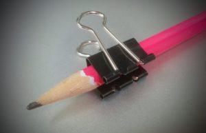正しい鉛筆の持ち方