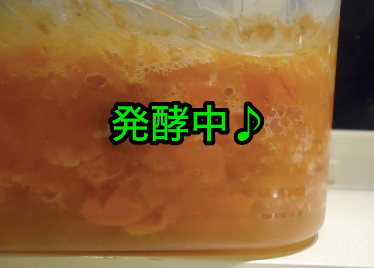 手作り柿酢