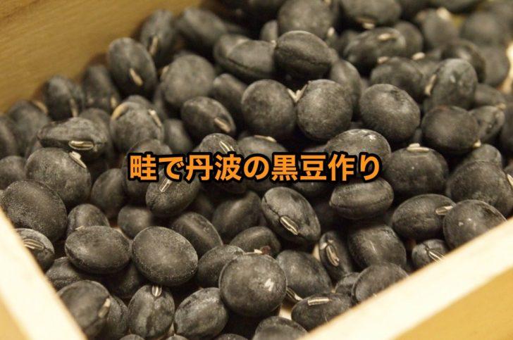 国産黒大豆